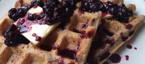 Crispy Cassava Blender Waffles • Fresh & Frank