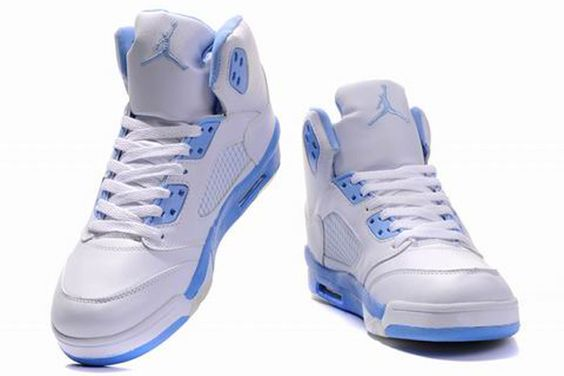 Air Jordan 5 V Retro Embroidery White University Blue Shoes,new technology gives the model a slightly thicker look, a trade most will be willing to make for better performance.