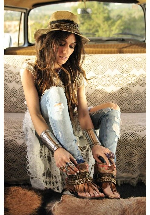 Boho Ibiza And Gypsy On Pinterest