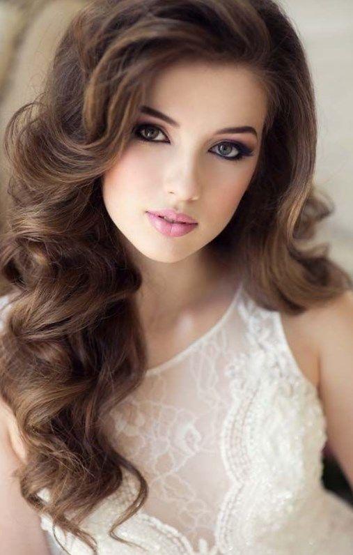 Peinados Para Xv Cabello Suelto Hair Styles Long Face Hairstyles Long Hair Styles