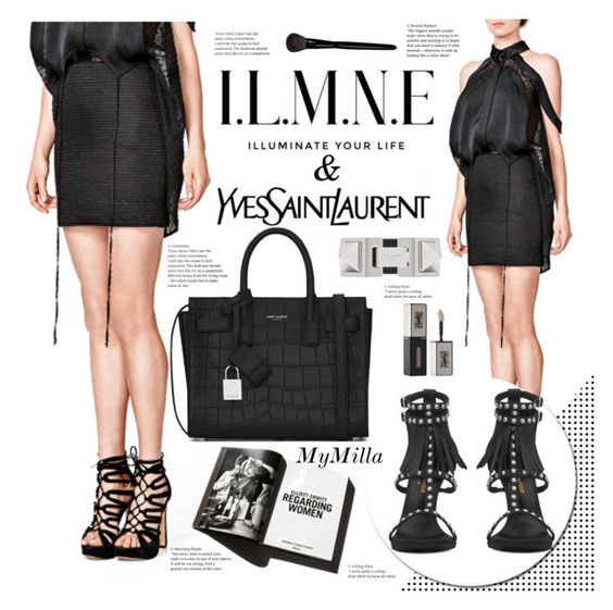 """ILMNE - Illuminate your life"" by mymilla ❤ liked on Polyvore featuring Yves Saint Laurent and Garance Doré"