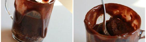 Mug cake chocolat sans gluten - Ma cuisine sans gluten