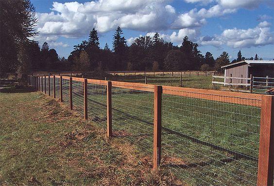 Farm Fence Bonney Lake Enumclaw Farm And Horse Fencing