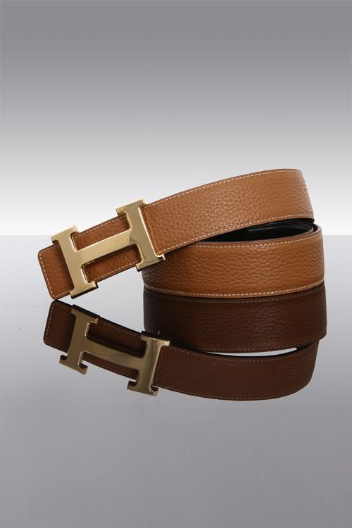 hermes paris handbag website - Hermes Brown & Black Belt Kit With Polished Gold Buckle ? Smooth ...