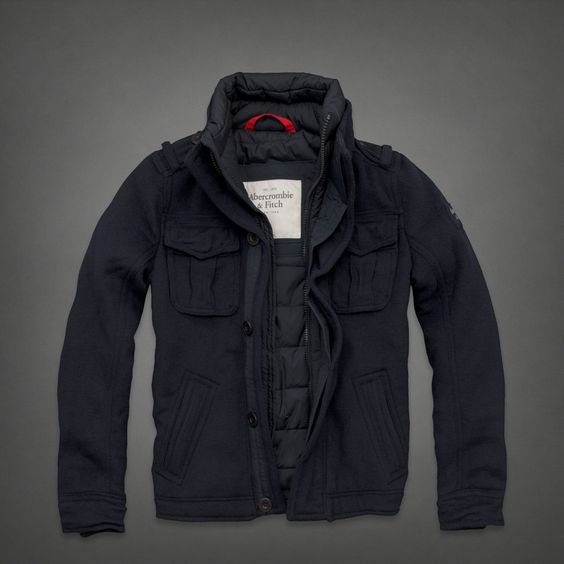 Mens Buell Mountain Jacket | Mens Outerwear | Abercrombie.co.uk ...