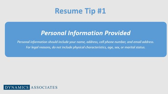 well this will be helpful this weekend while writing my resume - what information should be on a resume