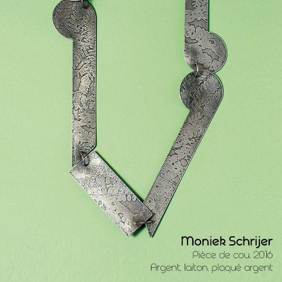 Moniek Schrijer - Pièce de cou: