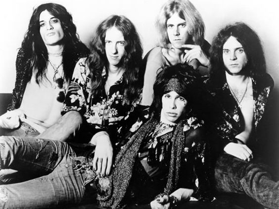 Aerosmith when they were still cool