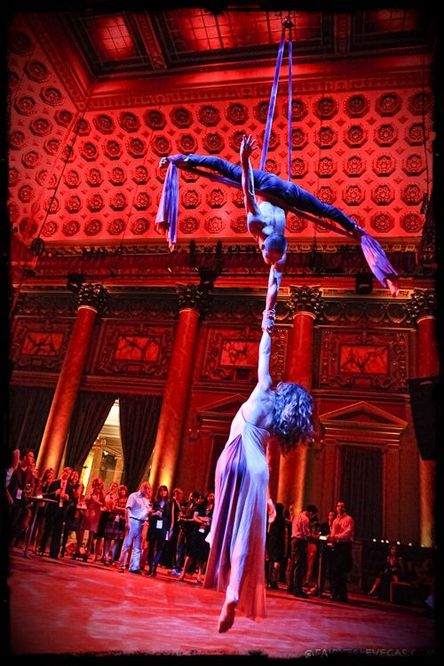 Joshua and Angela - a flying love story at Capitale in NYC