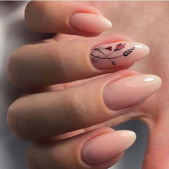 Фото: Светлый маникюр на короткие ногти: топ-10 идей оригинального дизайна, фотографии, картинки, изображения, - Joinfo.ua