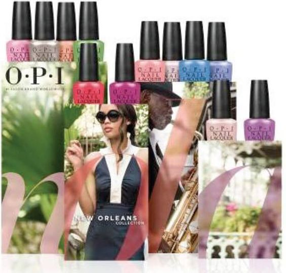 OPI New Orleans Spring Summer 2016 Collection
