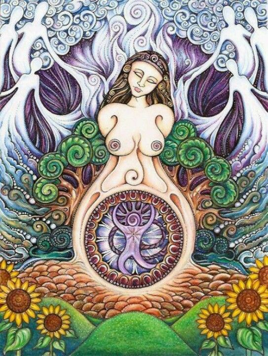 Gaia, mother nature - The goddess of Mother Nature was worshipped by non Jewish nations. However the Holy Scriptures say that the CREATOR was Jehovah. He condemned idolatry, which he calls the worship of the creation. Exodus 20:4,5; Psalm 115.
