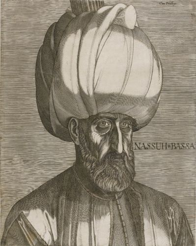 Melchior Lorck, Danish-German, (1526/7-post 1583), Portrait of Suleyman the Magnificent (Hollstein 34), Engraving (IIIrd State), circa 1574 | Lot | Sotheby's