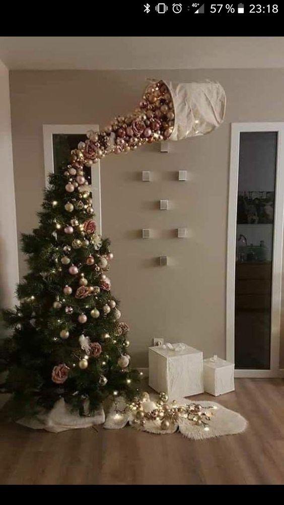Gravity Xmas Tree Funny Christmas Tree Christmas Tree Ornaments Christmas Tree Decorations