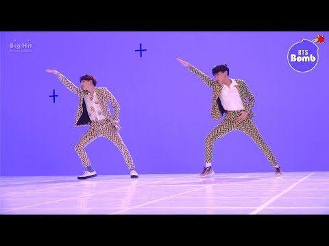 Bangtan Bomb Dance Battle During Idol Mv Shoot Bts Rm Jin Suga J Hope Jimin V Jungkook Bangtan Bomb Bangtan Bts