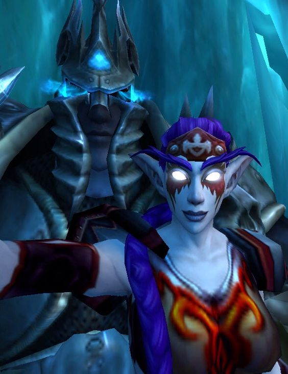 Selfies with the Lich King