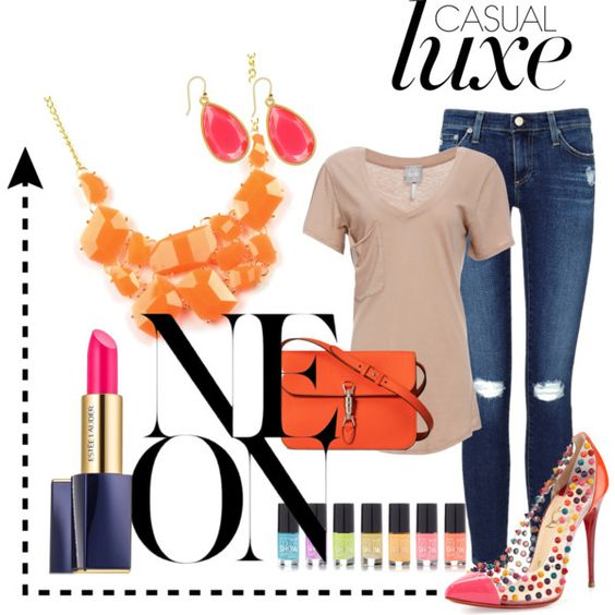 Casual Luxe- Neon