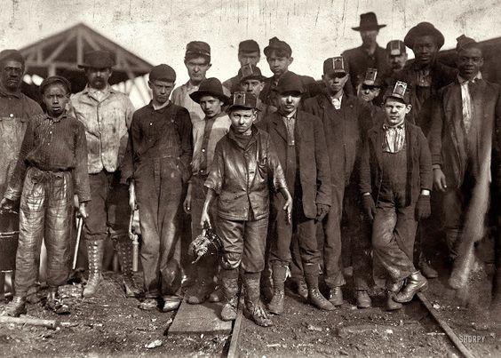 Los más pequeños trabajadores Retratos capturados por legendario fotógrafo Lewis Hine
