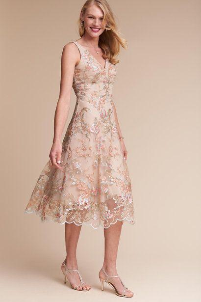 Blush Multi Eloizia Dress | BHLDN