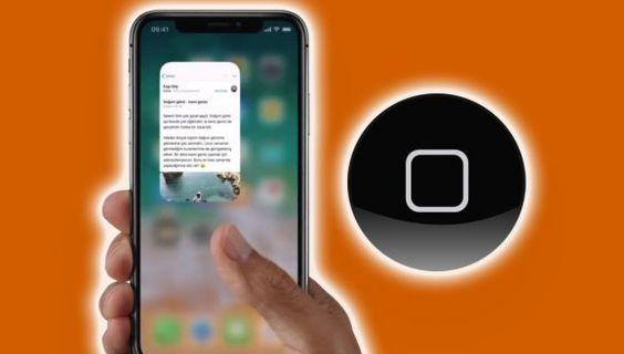 iPhone X'te Sanal Ana Ekran(Home) Tuşu Oluşturma