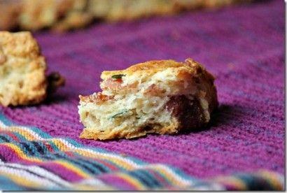 Bacon, Cheddar, Chive Scones