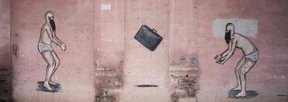 Málaga Arte Urbano en el Soho convoca a prestigiosos nombres del 'street art' y celebra un festival de música independiente con Pony Bravo y El Columpio Asesino