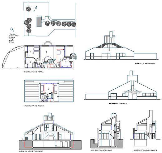 Vanna Ventury House By Robert Venturi In Philadelphia
