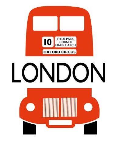 London Bus Letterpress Card from The Archivist, london, uk, united kingdom, england,  london bus, double decker bus, stationary, stationery, letterpress, the archivist,
