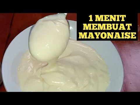 Membuat Mayonaise Sendiri Murah Gampang Rasa Sama Dengan Dipasaran Youtube Ide Makanan Resep Makanan Memasak