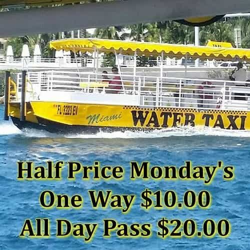Bayside Miami Boat Rides By Water Taxi Miami Call Now 305