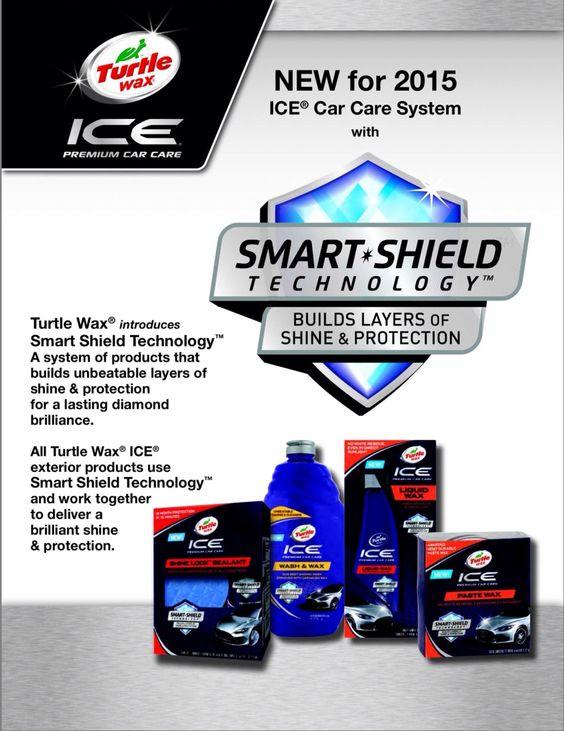 Turtle Wax Ice Smart Shield Technology Turtle Wax Ice