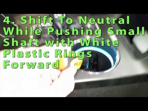 2009 To 2019 Ford Flex How To Release Shift Lock Move Transmission To Neutral Youtube Ford Flex 2019 Ford Transmission