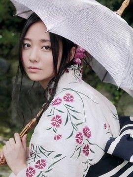 白い浴衣の木村文乃