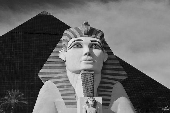 Pyramid in the Dessert (Luxor Las Vegas)