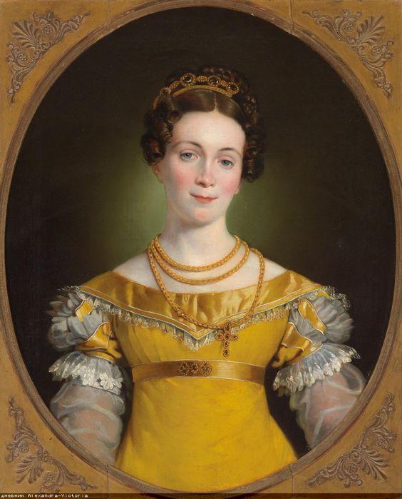 1819 Johann-Peter Krafft - Portrait of Anna Obermayer: