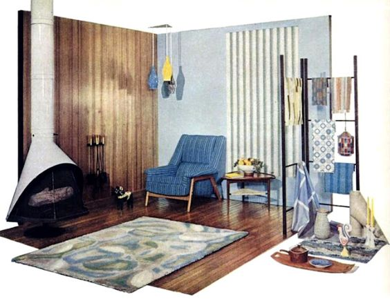 Gardens home and decorating ideas on pinterest for Garden design 1960s