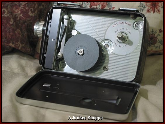 KODAK 1955 Brownie 8mm Model 82 Movie Camera In Original Box With Pamplet  IMG 3710 http://ajunkeeshoppe.blogspot.com/
