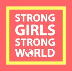 """""""Empowerment of and investment in girls are key in breaking the cycle of discrimination and violence and in promoting and protecting the full and effective enjoyment of their human rights"""" October 11th is the International Day of the Girl Child:"""