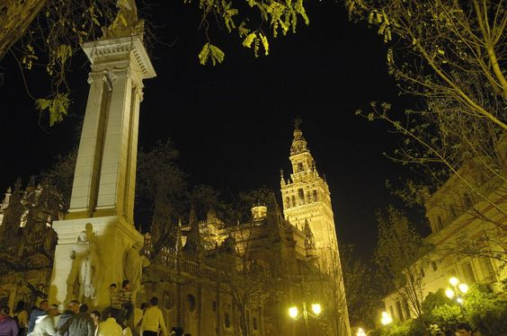 Sevilla, Andalusia. Easter procession