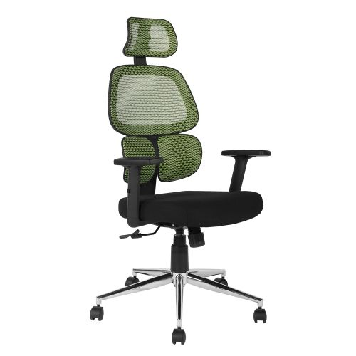 High Back Mesh Executive Office Chair With Neck Support Green Office Chairs Best Buy Canada Office Chair Best Office Chair Chair