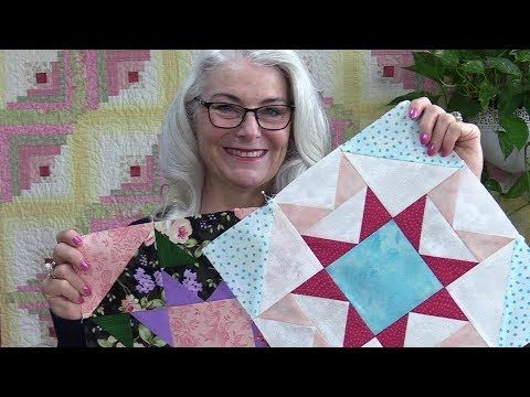 12 Rainbow Sorbet Free Block Of The Month Block 7 Youtube Star Quilt Blocks Quilting Tutorials Youtube Quilting