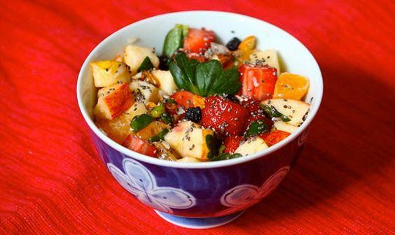 Receita de salada de frutas do verão | Melissa Setubal