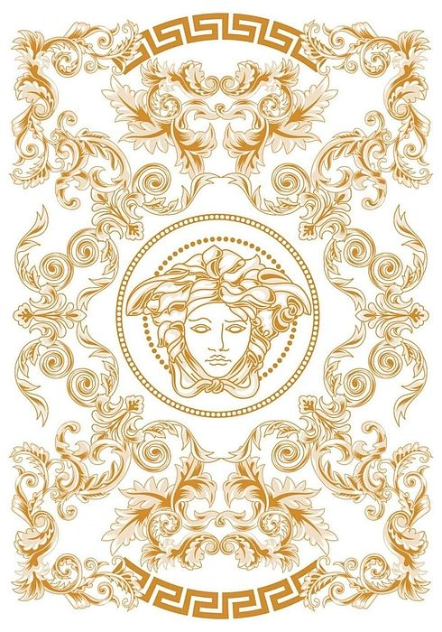 White And Gold Ornate Medusa Bath Towel For Sale By Versace Versace Wallpaper Prints Hypebeast Wallpaper Versace wallpaper desktop white gold