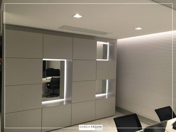 PROJETOS: Finalizando a obra. | Home-Ofiice  #izabelapagani #izabelapaganiarquitetos #arqdesign #design #designdeinteriores #marcenaria #iluminação #assimeugosto #designporn #CFL #TheView #designseek #suvinil #arquiteturacontemporânea #kitchens #contemporâneo #architecture #homedesign #interiordesign #homedecor #casaecia