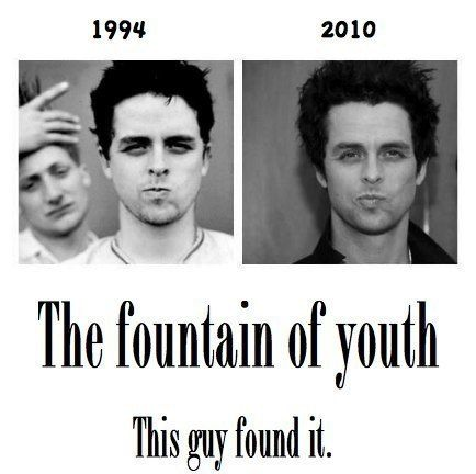 The fact that Billie Joe is the same age as my dad. And Billie Joe still looks the same really says something.