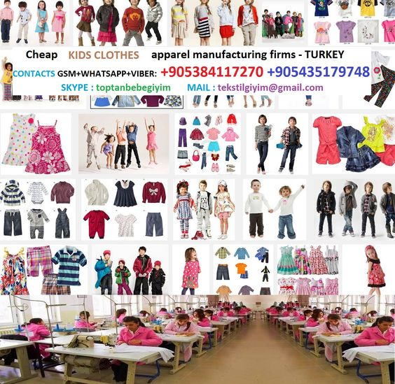Clothing Manufacturers Wholesale