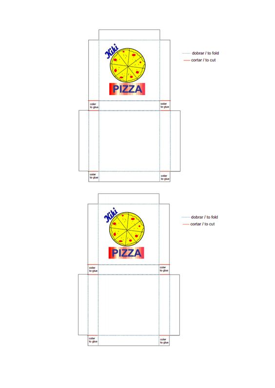 Resultado de imagem para moldes para imprimir para barbie  caixa de pizza