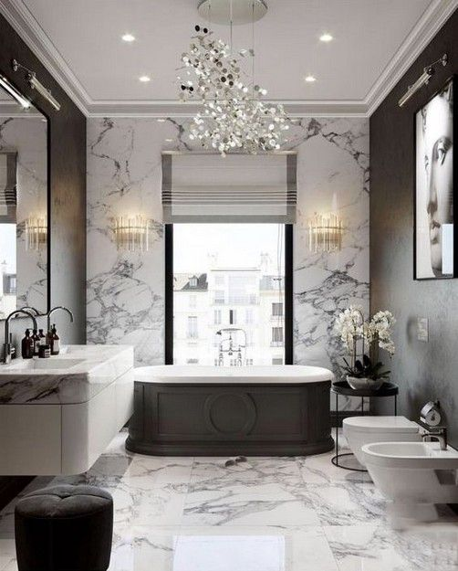 Dream Bathrooms Luxury Modern 72 In 2020 Luxury Bathroom Bathroom Design Layout Elegant Bathroom
