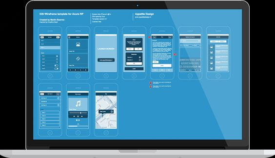 Ios templates free and templates on pinterest for Rp templates free