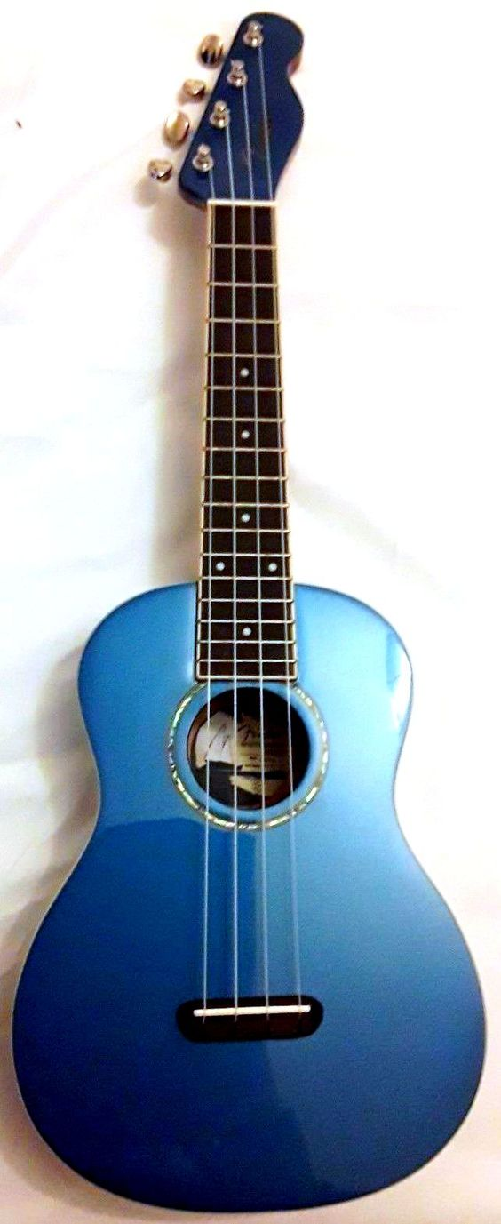 Lake placid blue fender zuma concert ukulele